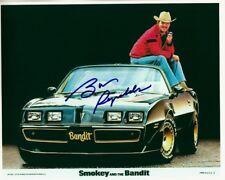 BURT REYNOLDS signed SMOKEY & THE BANDIT 8x10 w/ coa TRANS-AM PONTIAC FIREBIRD
