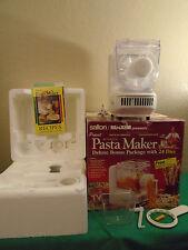 Popeil Automatic Pasta/Sausage Maker-Deluxe Bonus Pack