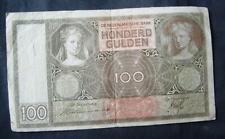 100 Gulden Nederland 1938