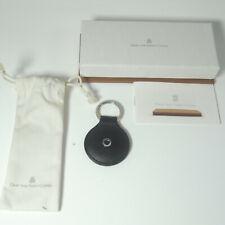 NEW Graf von Faber Castell Key Fob round Classic smooth leather Black 11 89 88