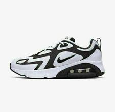 Nike Air Max 200 AQ2568-104 Branco, Preto e Cinza sportswear Masculino Tênis De Corrida Novo!