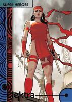 ELEKTRA / 2013 Marvel Fleer Retro (Upper Deck) BASE Trading Card #12