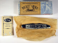 CASE CUTLERY MUSKRAT 2 BLADE POCKET KNIFE.  NEW IN BOX WITH PAPERWORK - 2001