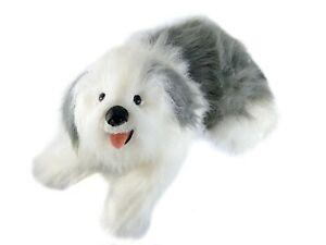 "Vintage Old English Sheepdog Dog Plush 29"" Toys R Us Animal Alley Soft Real"