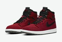 Nike Jordan 1 High Zoom Air CMFT Red Suede Men's Size 12 [CT0978-600] NEW RARE