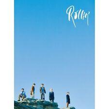 B1A4-[Rollin'] 7th Mini Album Blue Ver CD+120p PhotoBook+1p Card K-POP Sealed