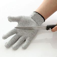 1pair Cut Proof Stab Resistant Stainless Steel Wire Metal Mesh Butcher Gloves