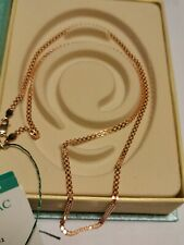 585 or 14 ct Russian Rose Gold Chain 4.63 gr. The length - 55 cm. (Diamond cut)