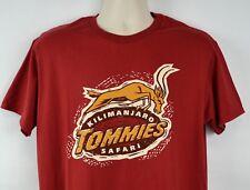 Rare Disney March Magic Men's L Kilimanjaro Safari TOMMIES T-Shirt, Red 2017