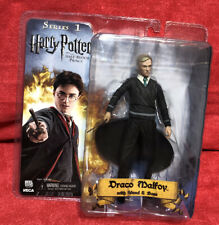 "Harry Potter 7"" DRACO MALFOY w/ Wand & Base Series 1 Neca Factory Sealed"