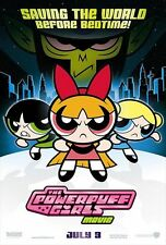 The Powerpuff Girls Movie Animated Original Double Sided 27x40 D/S Movie Poster