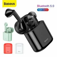 Baseus Wireless Bluetooth 5.0 Headset TWS Earphones Stereo Earbuds Charging Box