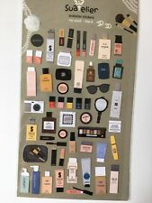 Pegatinas de papel de belleza Cosméticos de chicas como si Arte Hazlo tú mismo para uñas Scrapbook Cardmaking
