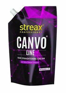 Streax Pro Canvo Line Hair Straightening Intense Cream With Kera 500 ml