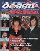 Rona Barrett's Gossip Magazine 1978 Spring Annual Vol. 1 No. 8 EX 112315DBE
