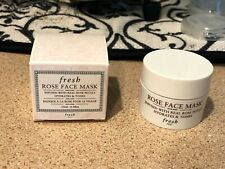 Fresh Rose Face Mask Skincare Hydrate & Tone Travel Sample Size 15ml 0.5 fl oz