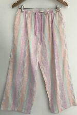 Peter Alexander Pastel Lace Print Womens PJ Pants Size S