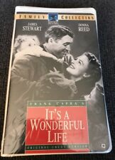 Its a Wonderful Life (VHS, 1996, Uncut Clam Shell Case) New, Sealed