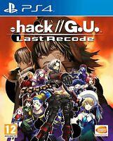 .hack// G.U. Last Recode   PlayStation 4 BRAND NEW SEALED.