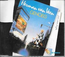 HERMAN VAN VEEN - Genoeg CD SINGLE 2TR HOLLAND 1990 (HARLEKIJN)
