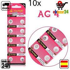 10x AG4 PILAS pila de botón baterías 377A boton bateria AG 4 GA4 SR626377 376 37