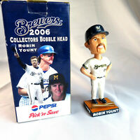 "Robin Yount 2006 Bobblehead Milwaukee Brewers SGA in Box - White Jersey 7"""