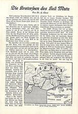 Dr. H. Ehrat Die Kraterseen des Keli Mutu Sunda- Insel Flores Koa Nara 1930