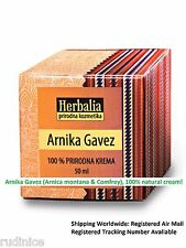 Arnica montana & Comfrey Cream ( for rheumatism , gout...) - Arnika Gavez krema