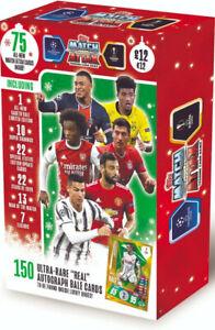 topps UEFA Champions League 2020/21 Match Attax Trading Card FESTIVE Box