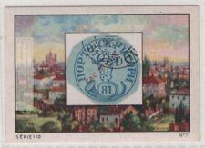 VintageTrade Ad Card 1858 Moldavia Bull's Head Romania Postage Stamp