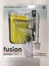 New JW Fusion 4 Aquarium Filter for 15-40 Gallon. Aquariums Power Filter