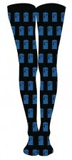 Doctor Who Allover Tardis Tights Socks M/L (1 Pair) Official DW-0406 US Seller