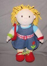 "15"" One Step Ahead Learn To Dress Plush Girl Doll- Stuffed Dress Up Preschool"