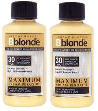 2 X Jerome Russell Bblonde Cream Peroxide 30vol 9%
