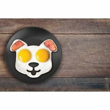 New IS GIFT Dog Shaped Fried Eggs Mould Funny Side Up By Fred Kitchen Cooking