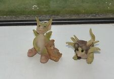 Pocket Dragons Real Musgrave 1990s Drowsy Dragon and Zoom Zoom