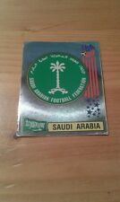 N°435 BADGE LOGO FOIL # SAUDI ARABIA PANINI USA 94 WORLD CUP ORIGINAL 1994