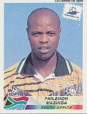 N°189 PHILEMON MASINGA SOUTH AFRICA PANINI WORLD CUP 1998 STICKER VIGNETTE 98