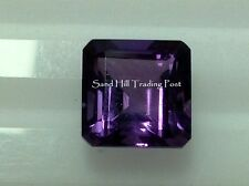 Natural 8mm Loose Asscher 2.34 ct African Amethyst AAA