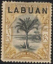 LABUAN 1897 3c - pen cancelled Sc#79 @P375