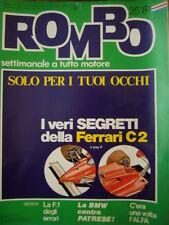 ROMBO 35 1981 I Veri segreti della Ferrari C2 - C'era una volta l 'ALFA