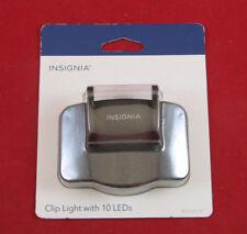 BEST BALL CAP VISOR LIGHT CLIP ON /10 LEDS W/ BATTERIES ULTRA BRIGHT HAT LIGHT