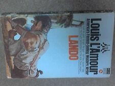 Lando (Sackett series) by L'Amour, Louis Paperback Book The Fast Free Shipping