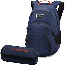 DAKINE SET Laptop Rucksack Schulrucksack CAMPUS SM 25l + SCHOOL CASE Mäppchen