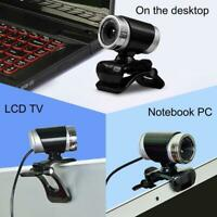 USB HD Camera Webcam 1080P Web Cam w/ Microphone For Desktop Laptop Computer