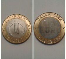 moneta DALLA LIRA ALL'EURO...