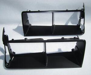 1984-1987 Buick Regal Grand National Black Headlight Doors. Pair Headlamp Bezels