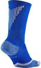 NIKE ELITE Cushion Golf / Athletic Crew Socks SG0642 Blue & Grey Men's 10 - 11.5