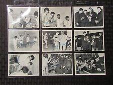 1964 BEATLES Topps Trading Card 3rd Series LOT of 9 VG/VG+ John Lennon