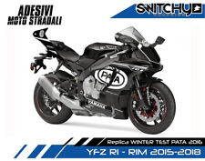 Adesivi Stickers kit replica YAMAHA YZ-F R1 R1M Dekore TEAM PATA SBK WINTER TEST